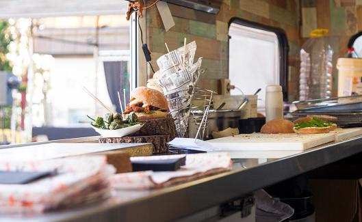 Bar Counter「Sandwich food truck」:スマホ壁紙(18)