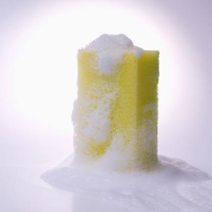 Soap「Sponge with foam, studio shot」:スマホ壁紙(2)