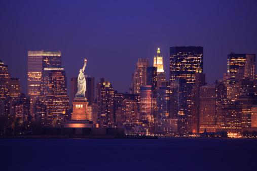 Cityscape「New York Skyline」:スマホ壁紙(17)